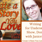 041 Writing Tips for Understanding Show, Don't Tell with Janice Hardy