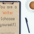 You are a Writer(Choose Yourself)