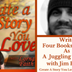 057  Write Four Books A Year As A Juggling Author With Jim Heskett
